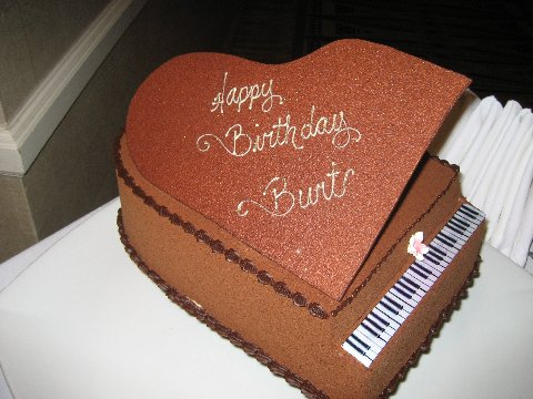 Birthday cake for Burt