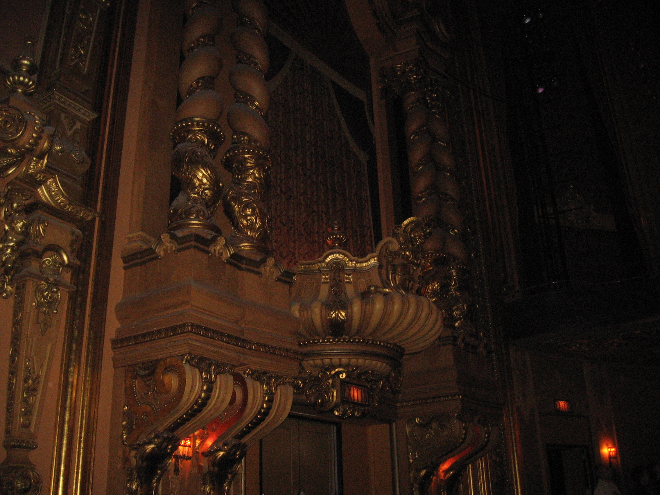 The interior of the Stanley Theatre