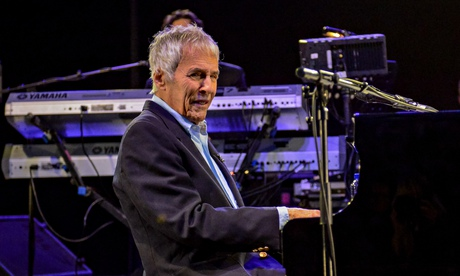 Burt Bacharach performing at last year's Wilderness Festival in Oxfordshire, U.K.